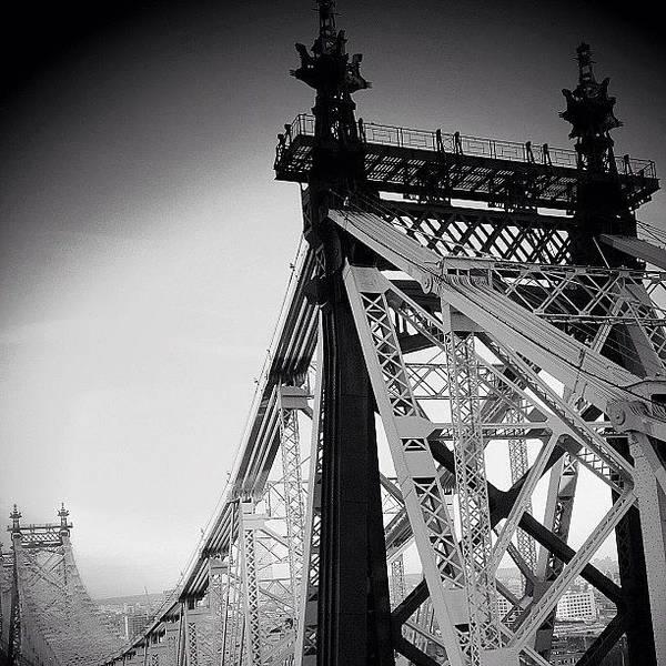 Wall Art - Photograph - Queensboro Bridge - Ny ( 1901 - 1909 ) by Joel Lopez