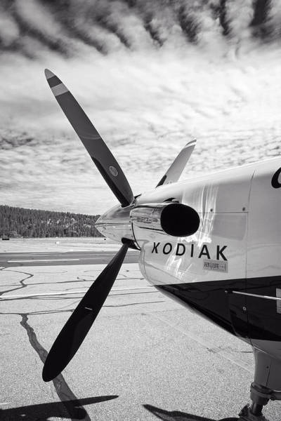 Skydiver Photograph - Quest Kodiak Aircraft by Daniel Hagerman