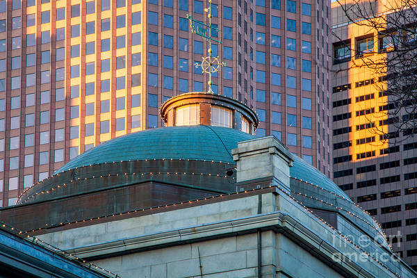 Wall Art - Photograph - Quincy Market Dome by Susan Cole Kelly