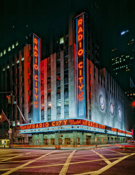 Rockettes Photograph - Radio City Music Hall by Mountain Dreams