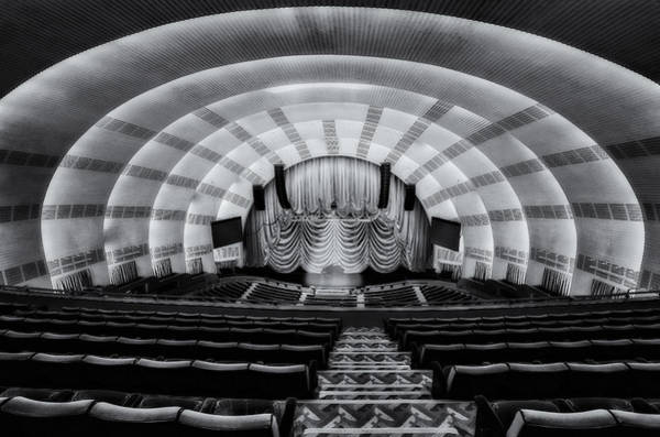Center Stage Photograph - Radio City Music Hall Theatre by Susan Candelario