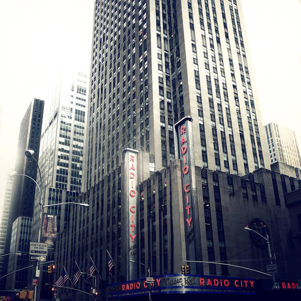 Photograph - Radio City by Natasha Marco