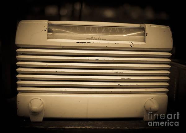 2014 Photograph - Radio Days by Edward Fielding