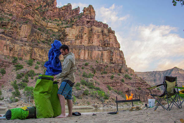 Wall Art - Photograph - Rafting In Desolation And Gray Canyons by Taylor Reilly