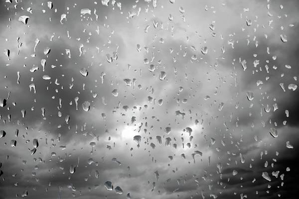 Environmental Issue Wall Art - Photograph - Rain Drops On Window by Victor De Schwanberg
