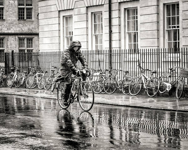 Photograph - Rainy Day Ride by William Beuther