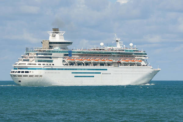 Photograph - Rci Monarch Of The Seas by Bradford Martin
