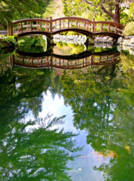 Photograph - Wooden Footbridge by Marilyn Wilson