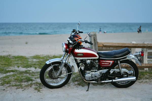 The Blue Room Photograph - Retro Beach Ride by Laura Fasulo
