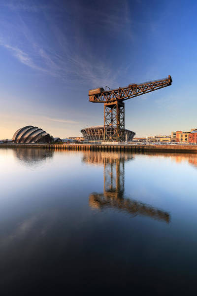 Photograph - River Clyde Reflections by Grant Glendinning