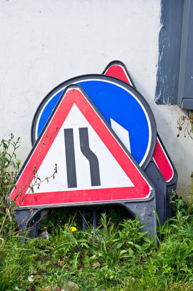 Code Photograph - Road Signs by Tom Gowanlock