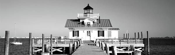 Roanoke Wall Art - Photograph - Roanoke Marshes Lighthouse, Outer by Panoramic Images