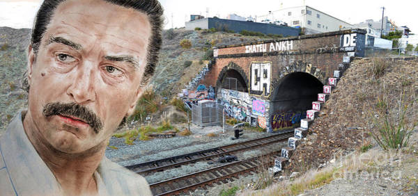 Wall Art - Photograph - Robert De Niro In Jackie Brown Version II by Jim Fitzpatrick