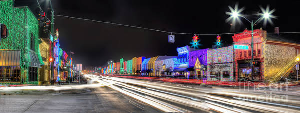 Rochester Photograph - Rochester Christmas Lights by Twenty Two North Photography