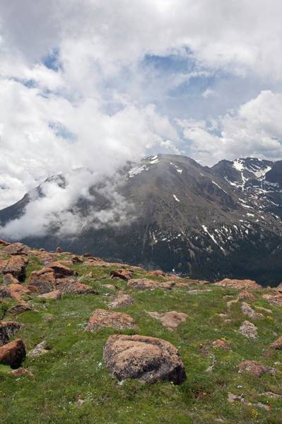 Continental Divide Photograph - Rocky Mountain National Park by Jim West