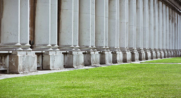 Cement Photograph - Roman Architecture by Tom Gowanlock