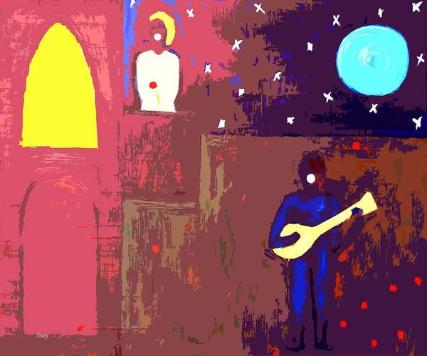 Romeo And Juliet Wall Art - Painting - Romeo And Juliet by Patrick J Murphy