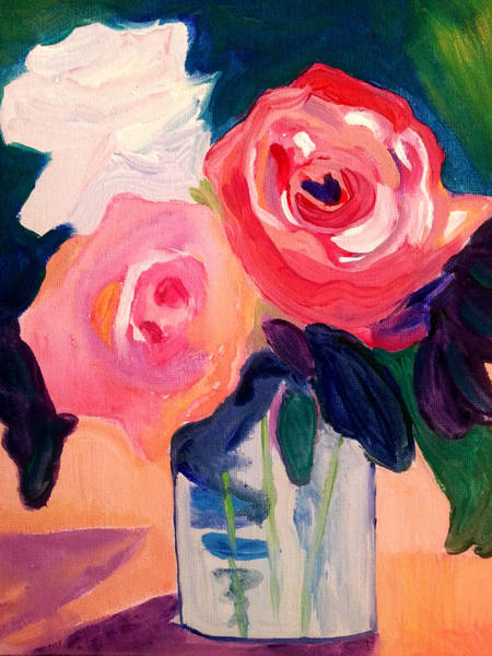Painting - Roses  by Nikki Dalton