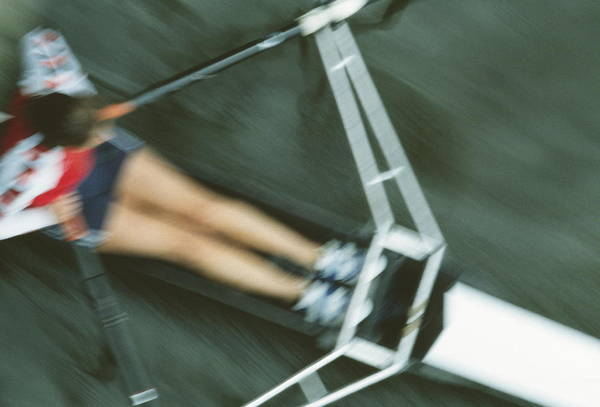 Rowing Wall Art - Photograph - Rower by Matthew Munro/science Photo Library