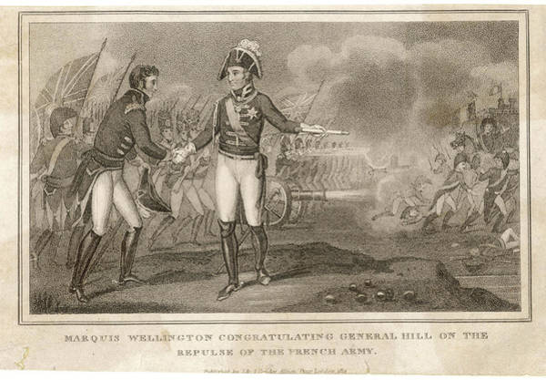 Wall Art - Drawing - Rowland, First Viscount Hill Military by Mary Evans Picture Library