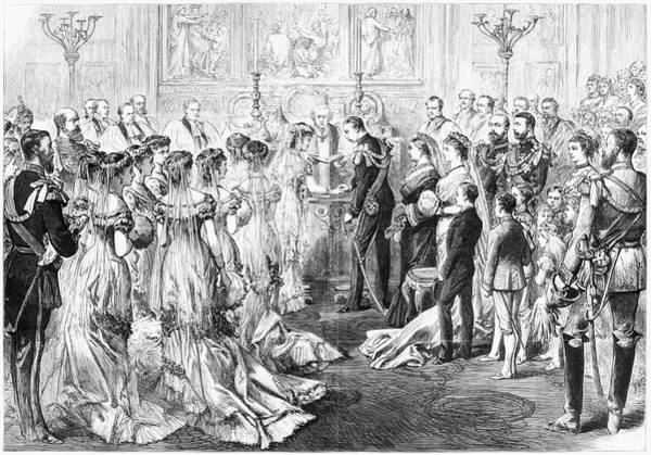Prince Arthur Painting - Royal Wedding, 1879 by Granger
