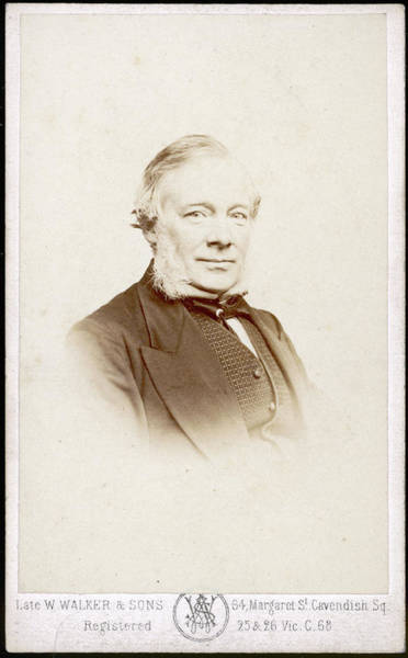 Wall Art - Photograph - Samuel Smiles  Scottish Author, Best by Mary Evans Picture Library