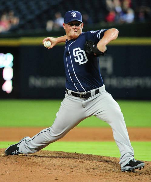 Turner Field Photograph - San Diego Padres V Atlanta Braves by Scott Cunningham
