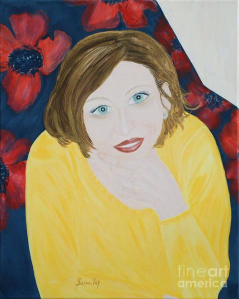 Painting - Sana. Inspirations Collection. by Oksana Semenchenko