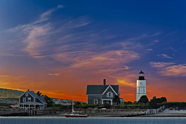 Photograph - Sandy Neck Lighthouse by Susan Candelario