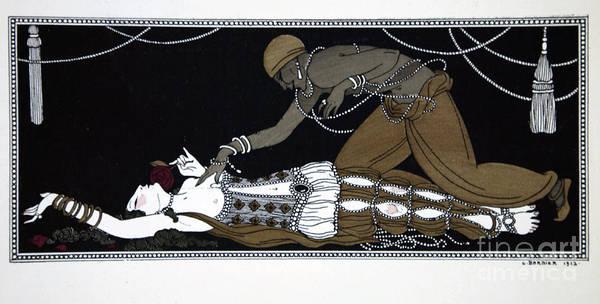 Partner Painting - Scheherazade by Georges Barbier