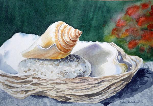 Painting - Sea Shells by Irina Sztukowski