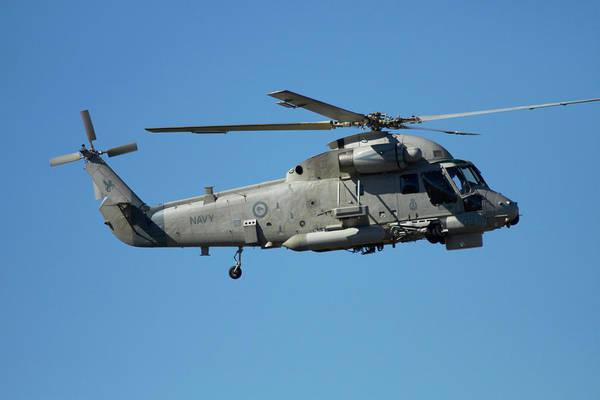 Chopper Photograph - Seasprite Helicopter, (kaman Sh 2g by David Wall