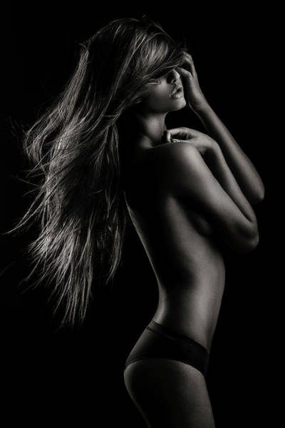 Sensuality Wall Art - Photograph - Sensual Beauty by Martin Krystynek, Qep
