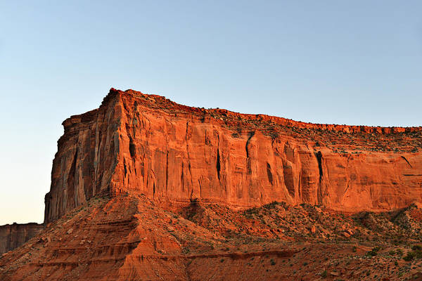 Photograph - Sentinel Mesa Monument Valley by Christine Till