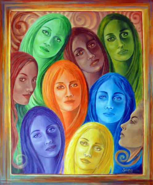 Painting - Serene Sisters by Sylvia Kula