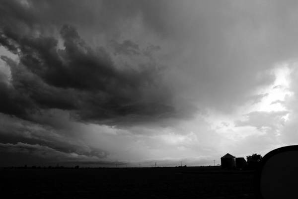 Photograph - Severe Storm Cells Developing Over South Central Nebraska by NebraskaSC