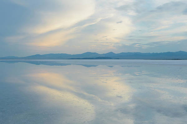 Photograph - Shallow Water Over The Surface At The by Mint Images - Paul Edmondson