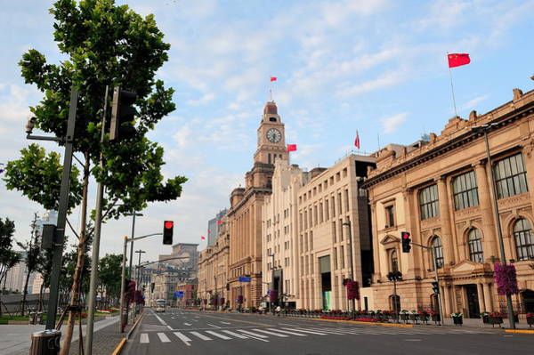 Photograph - Shanghai Historic Architecture by Songquan Deng