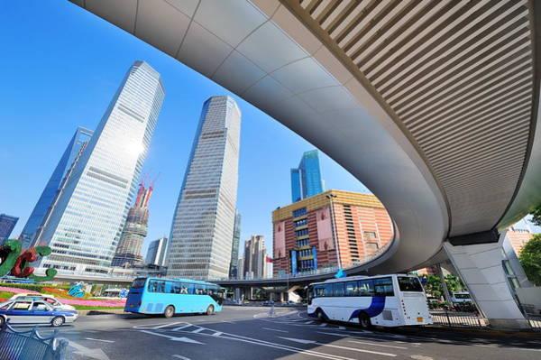 Photograph - Shanghai Street by Songquan Deng