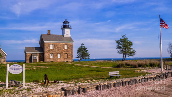 Photograph - Sheffield Island Light.  by New England Photography