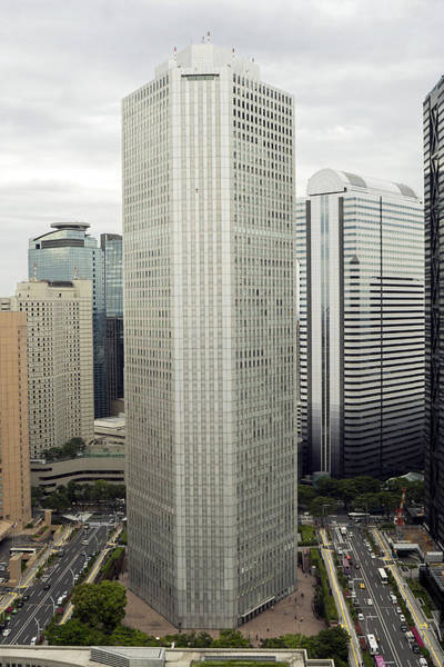 Photograph - Shinjuku Skyscrapers by For Ninety One Days