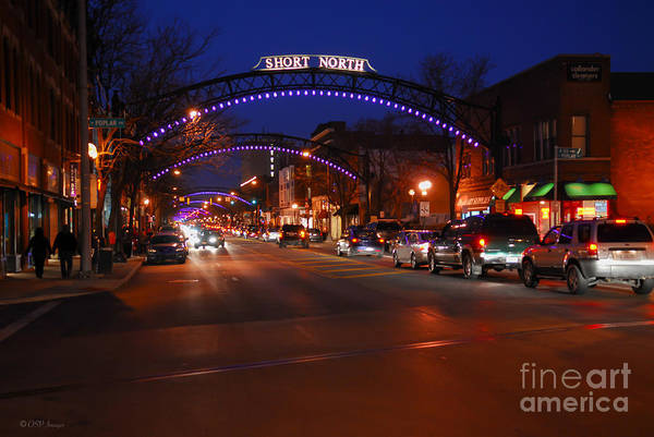 Photograph - D8l-353 Short North Gallery Hop Photo by Ohio Stock Photography