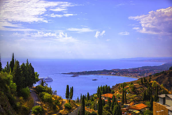 Wall Art - Photograph - Sicily View by Madeline Ellis