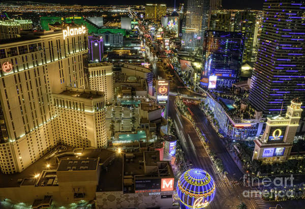 Hdr Wall Art - Photograph - Sin City by Eddie Yerkish
