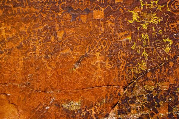 Photograph - Sinagua Petroglyphs by Tom Singleton