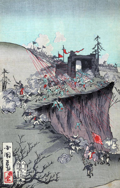 Wall Art - Painting - Sino-japanese War, 1894 by Granger