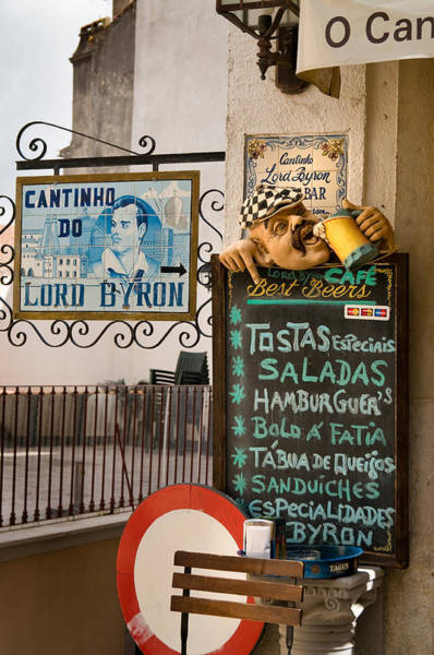 Cantina Photograph - Sintra, Portugal by Kenneth Murray