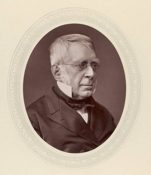 Wall Art - Photograph - Sir George Biddell Airy (1801-1892) by Mary Evans Picture Library