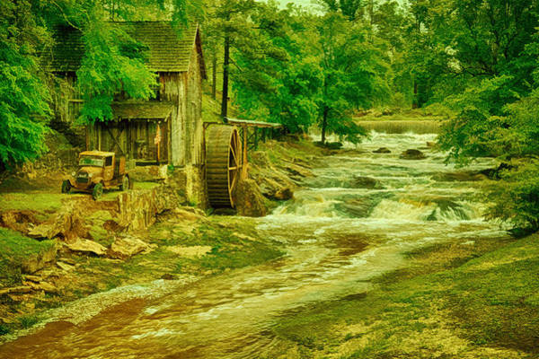 Millrace Wall Art - Photograph - Sixes Mill by Priscilla Burgers