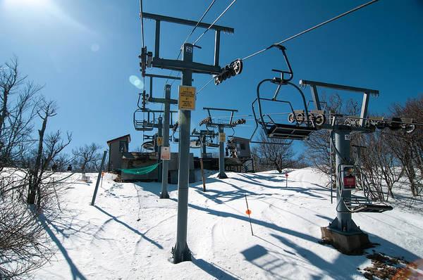 Photograph - Ski Lift by Alex Grichenko